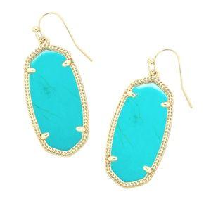 Kendra Scott Elle Earrings - Turquoise Magnesite